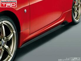 TRD サイドスカートライトニングレッド(C7P) 塗装済み [86 (ハチロク) ZN6 前期] 新品