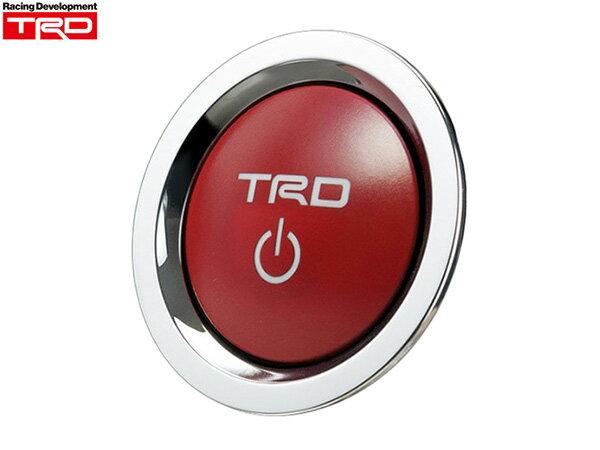 TRD プッシュスタートスイッチ [クラウンロイヤル ハイブリット AWS210 Hybrid HV] TRDパーツ新品