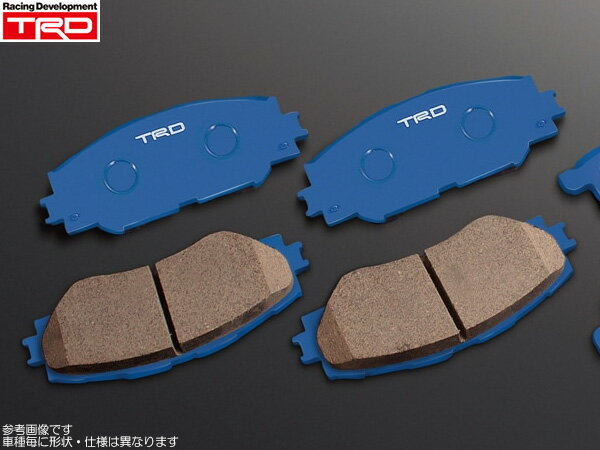 TRD ブレーキパッド 1台分 [86 (ハチロク) ZN6 GT-Limited/GTグレード用 前期] 新品