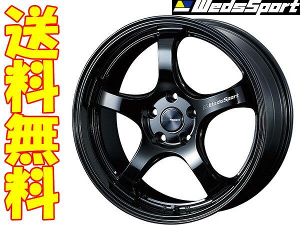 WedsSport RN-05M GLOSS BLACK 1本 [18×9.5J+45 5/100] ウェッズスポーツ ホイール1本 グロスブラック 代引手数料無料&送料無料