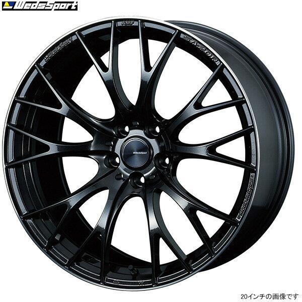 WedsSport SA-20R METAL-BLACK/F 1本 [20×8.5J+38 5/114.3] ウェッズスポーツ ホイール1本 メタルブラックエフ 新品