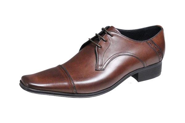 キャサリンハムネットメンズシューズ3980ダークブラウンLATHARINE HAMNETTストレートチップ紳士靴