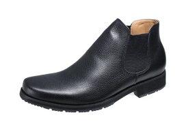 メンズカジュアルサイドゴア付カジュアルブーツマドラスモデロVITA紳士ブーツ5670ブラック