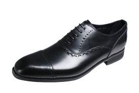 トラサルディメンズシューズTRUSSARDIストレートチップ内羽根紳士靴13081ブラック