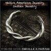 Orville  Z.Tsinnie 커프 미국 원주민 인디언 보석 스털링 실버 925  Orville Z.Tsinnie cuff Native American Indian Jewelry Sterling Silver 925 (ID na3201r73)