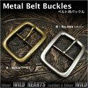 ベルト バックル 取り替え用 真鍮 40mmBelt Buckle Brass WILD HEARTS Leather & Silver (ID mb3769r...