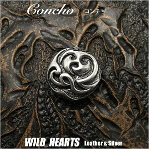 コンチョ シルバー925 トライバル Concho Silver925 Tribal WILD HEARTS Leather&Silver(ID ch106t31)