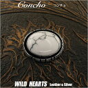 コンチョ/ウエスタン/インディアンジュエリー Concho/western concho/Indian jewelry WILD HEARTS Leather&Silver(Ite…