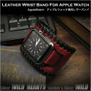 Apple Watch バンド レザー/革 ベルト アップルウォッチ Genuine Leather Watch Strap Bracelet Wrist Band For A…