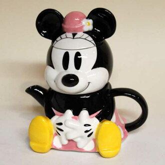 미니 마우스/티 포 원 티 컵과 티 팟 세트