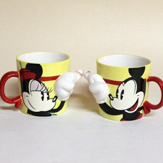 Mickey mouse & Minnie Mouse pair mug / red thread ■ mug cup set fs3gm