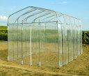 \エントリーでポイント5倍!/【送料無料】DAIM ダイムハウス 2坪用 日本製 | 家庭菜園用 組み立て簡単 温室栽培や雨…