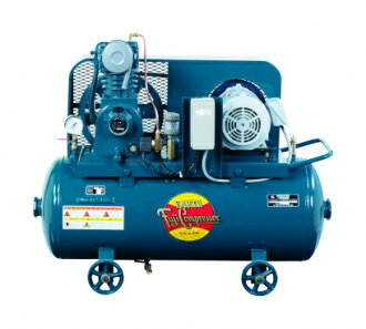 Fuji Compressor 2 HP Universal type air cooled further compression compressors FS-15MT tank mounted pressure retractable oiling system three-phase motor MT specifications