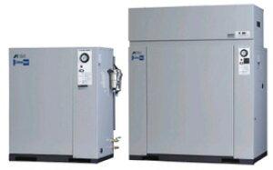 アネスト岩田 0.75kW エアーコンプレッサー CFP07C-8.5D (C5/C6) 単相100V オイルフリー 低騒音パッケージタイプ ドライヤ付き