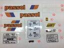 パッソル ステッカー セット 2型 純正タイプ 新品 パーツ 部品 シール