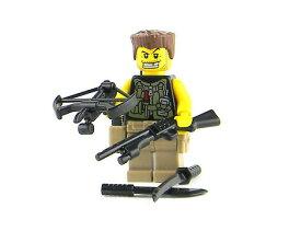 カスタムレゴ LEGO SWAT スワット ゾンビハンター 海外限定 フィギュア