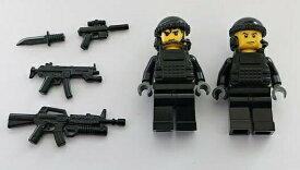 カスタムレゴ LEGO 近代戦闘 アメリカ海軍 特殊部隊 ネイビーシールズ チーム2 2体セット 海外限定