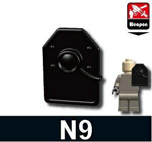 カスタムレゴ カスタムパーツ LEGO 武器 N9 ハンドシールド 中東 SWAT スワット ロシア WW2 世界大戦