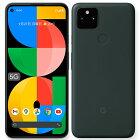 【新品 開封済み未使用品】Google Pixel 5a 5G 128GB キャリア版 Mostly Black SIMフリー