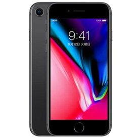 【整備済品】iPhone8 64GB SIMフリー [スペースグレイ]【付属品おまけ付き】【バッテリー容量80%以上保証】【安心!当社1ヶ月製品保証付き】