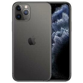 【整備済品】iPhone 11 Pro 64GB スペースグレイ SIMフリー【他社製ケーブルとアダプタ付き】【バッテリー容量80%以上保証】一ヶ月あんしん保証付き!