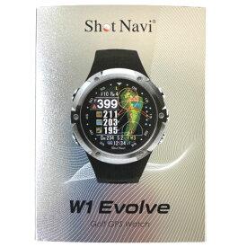 【新品未開封品】ショットナビ ゴルフ W1 エヴォルブ 腕時計型GPSナビ Shot Navi W1 Evolve