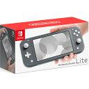 【即日発送】【新品 外箱痛みあり】Nintendo Switch Lite [グレー]