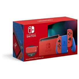 「まとめ買いクーポン発行中」【新品未開封 国内正規品】任天堂 Nintendo Switch マリオレッド×ブルー セット