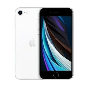 【即日発送】【開封済み 新品未使用品】iphoneSE 第2 64GB White new イヤホン アダプタなし SIMフリー
