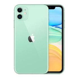 【新品未開封品】Apple iPhone 11 128GB SIMフリー [グリーン] 携帯電話 appleストア版  スマートフォン