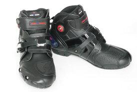 【本日限定!全品ポイント14倍!売り切れ御免!!大セール】Riding Tribe レーシングブーツ ライディングシューズ 43 26.5cm バイク ブーツ シューズ 靴 メンズ