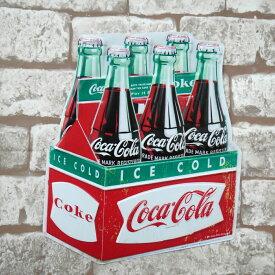 【エントリーで最大P9倍★25日〜26日まで】レトロ ブリキ看板 メタルプレート アメリカンレトロ アンティーク コカコーラ Coca Cola 瓶 ボトル アメリカン雑貨 インテリア【BZ-62】