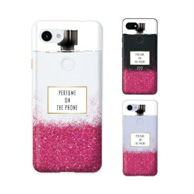 Google Pixel 3a / Pixel 3a XL / Pixel 3 / Pixel 3 XL 香水 ボトル メタル ピンク カワイイ スマホ ケース ハード カバー グーグル ピクセル3