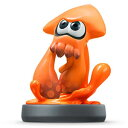 【数量限定特価★+1月22日発送★新品】WiiU周辺機器 amiibo イカ (オレンジ) (スプラトゥーンシリーズ) (任
