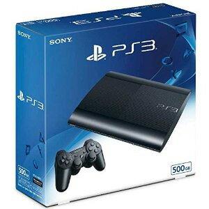 【-+7月18日発送★新品】PS3本体 PlayStation3 チャコール・ブラック 500GB CECH-4300C