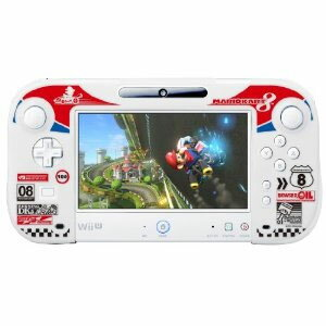 ★1月22日発送★新品】WiiU周辺機器 シリコンカバーコレクション for Wii U GamePadマリオカート8 Type-A
