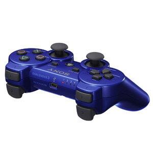 【+11月16日発送★新品】PS3周辺機器 ワイヤレスコントローラ (DUALSHOCK3) メタリック・ブルー