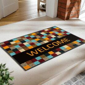 玄関マット Quadratissimo Welcome 50x75cm (屋外・屋内兼用)