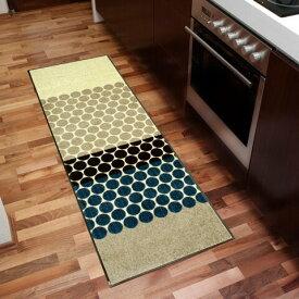 キッチンマット Mixed Dots 60x180cm (屋外・屋内兼用)