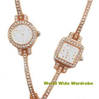 ★闪闪发光的线斯通手镯漂亮的手镯手镯表女士手表
