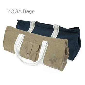 ★有超便于瑜伽垫子建成收藏的★大容量棉布帆布Yoga多功能包★热的瑜伽健身房健身往返的♪防水口袋的体育包包YOGA