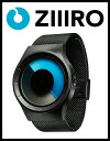 【送料無料】【ZIIIRO JAPAN公式】 ZIIIRO ジーロ 時計 セレステ 黒/青【ドイツ デザインウォッチ】Celeste Black/Mono 腕時計 ユニセックス対応 ペア おしゃれ プ