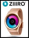 【送料無料】【ZIIIRO JAPAN公式】 ZIIIRO ジーロ 時計 セレステ ピンクゴールド ローズ ゴールド【ドイツ デザインウォッチ】CELESTE Rose/Gold 腕時計 Z0005W