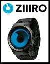 【送料無料】【ZIIIRO JAPAN公式】ZIIIRO ジーロ 時計 マーキュリー 黒/青【ドイツ デザインウォッチ】MERCURY Black/…