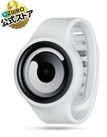 【ZIIIRO JAPAN公式】 ZIIIRO ジーロ 時計 グラビティー 白【ドイツ デザインウォッチ】Gravity White 腕時計 Z0001WW ユニセックス対応 ペア おしゃれ プレゼント