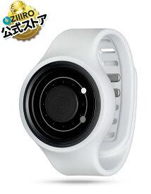 【ZIIIRO JAPAN公式】ZIIIRO ジーロ 時計 オービット 白【ドイツ デザインウォッチ】Orbit Snow 腕時計 Z0003WASGY ユニセックス対応 ペア おしゃれ プレゼント