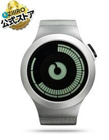 【ZIIIRO JAPAN公式】 ZIIIRO ジーロ 時計 サターン クロム【ドイツ デザインウォッチ】Saturn Chrome 腕時計 Z0008WS ユニセックス対応 ペア おしゃれ プレゼント