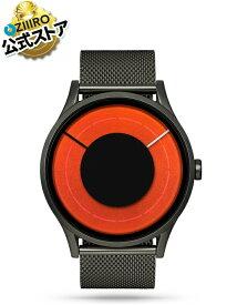 【ZIIIRO JAPAN公式】ZIIIRO ジーロ 時計 ソラリス ガンメタル/赤【ドイツ デザインウォッチ】Solaris Gunmetal / Blaze 腕時計 Z0014WGB ユニセックス対応 ペア おしゃれ プレゼント