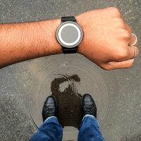 【送料無料】【日本正規代理店】ZIIIROジーロ時計エクリプス黒/赤【ドイツデザインウォッチ】EclipseBLK/Red腕時計Z0012WBRユニセックス対応ペアおしゃれプレゼント