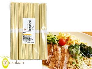 豆乳 中華麺 80g × 5束 乾麺 ヘルシー &栄養満点 国産大豆 夢石庵 むせきあん 801 税率8%